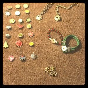 Snap jewelry lot